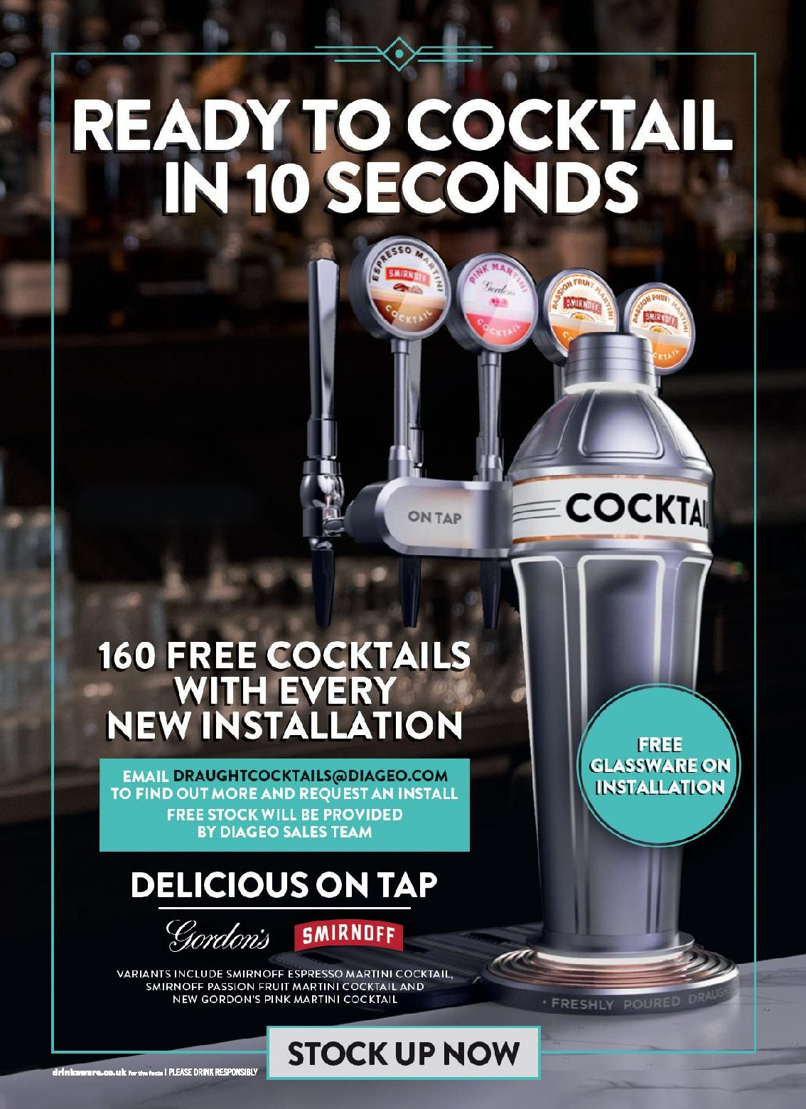 Cocktails on Draught