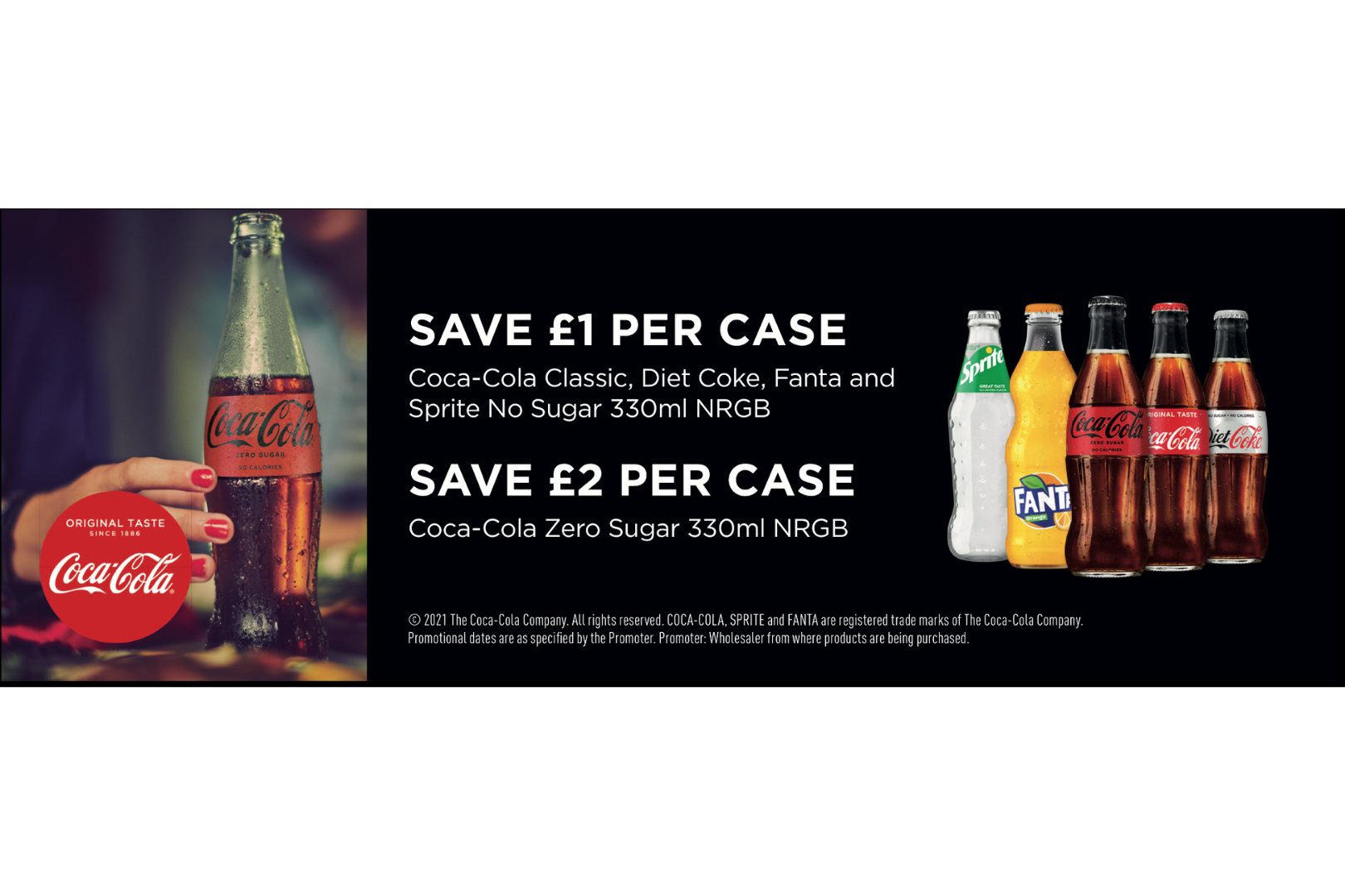 Save on 330ml cases across the Coca Cola RangeSave on 330ml cases across the Coca Cola Range